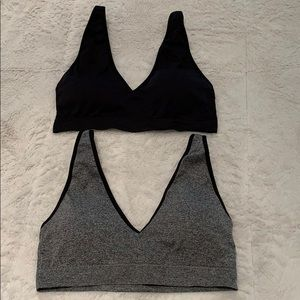 Sports Bras! Set of two size Large. Never worn!